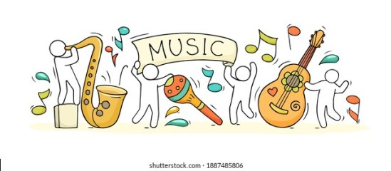 sketch-music-class-happy-little-260nw-1887485806